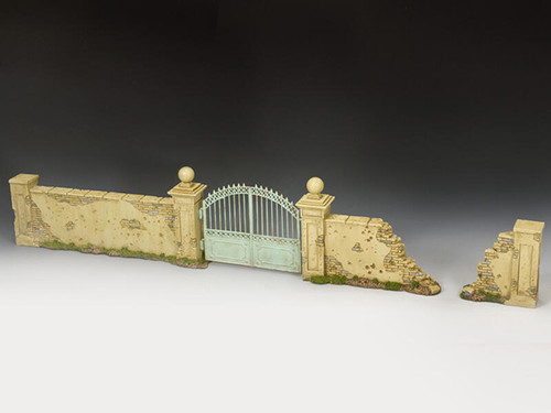 King & Country Soldiers SP114 Diorama Accessories European Walls And Gates