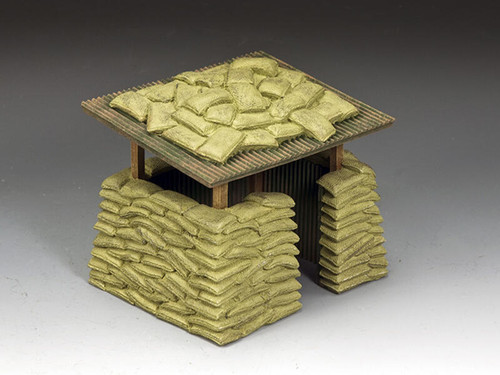 King & Country Soldiers SP115 Diorama Accessories The Vietnam Guard Post