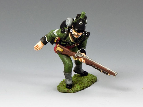King & Country Soldiers NA384 Age Of Napoleon 95th Rifles Sergeant