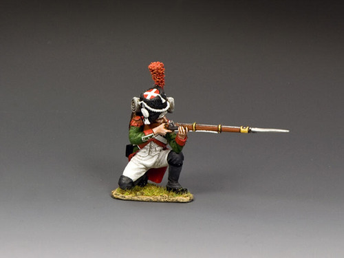 King & Country Soldiers NA465 Age Of Napoleon Italian Grenadier Kneeling Firing