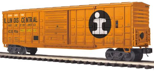 MTH Trains 20-93663 Illinois Central 50' Waffle Side Box Car No 12922 O Scale