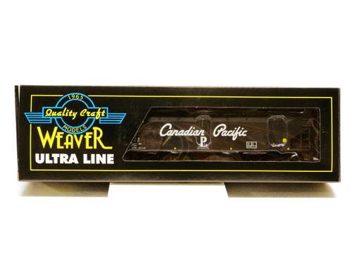 Weaver Trains U3924LD Canadian Pacific 3 Rail 3-Bay Offset Coal Car No 357722