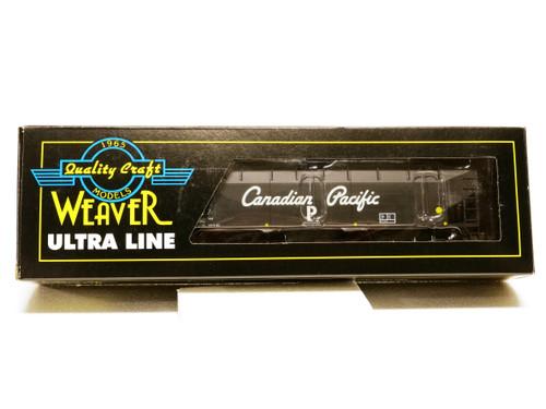 Weaver Trains U3924LD Canadian Pacific 3 Rail 3-Bay Offset Coal Car No 357947