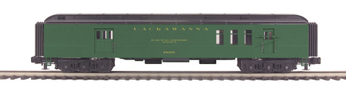 MTH Trains 20-42032 Lackawanna 70' Madison RPO Passenger Car O Scale