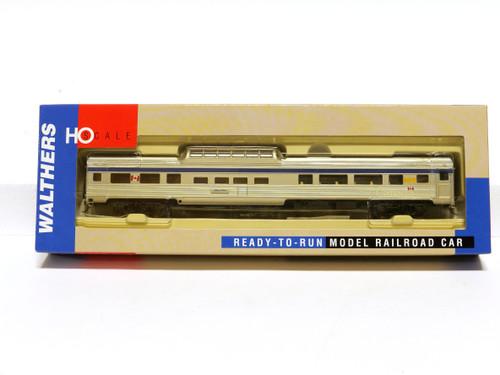 Walthers 932-16483 VIA 85' Budd Dome Coach Passenger Car HO Scale
