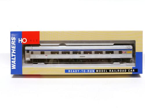 Walthers 932-16301 VIA 85' Budd 46 Seat Coach Passenger Car HO Scale