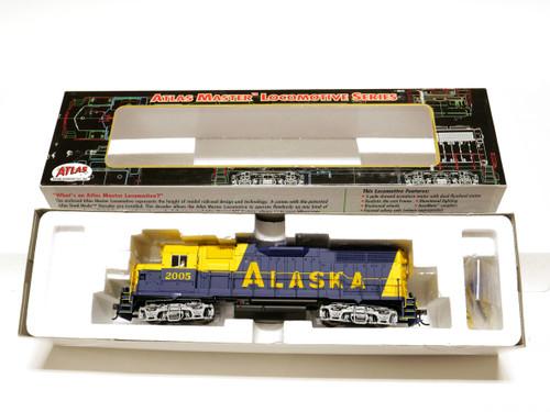 Atlas Trains 8980 Alaska GP38 Diesel Locomotive Engine HO Scale