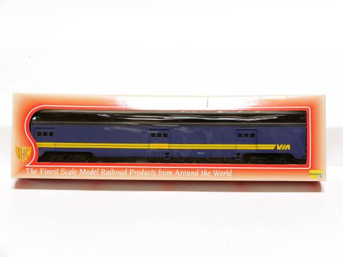 IHC HO Scale VIA Smooth Side Baggage Passenger Car 48280