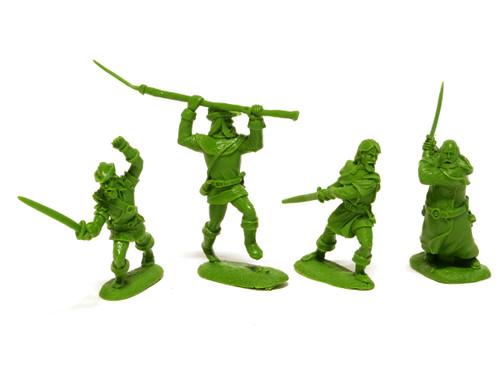 LOD Enterprises Barzso Figure Set 048 Robin Hood Character Figures