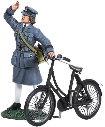 WBritain Toy Soldier 25018 WWII RAF Commemorative Set - WAFF with Bicycle 1943