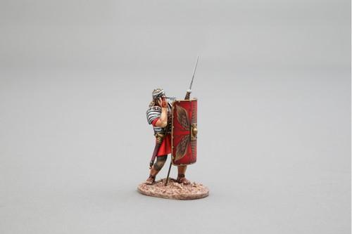 Thomas Gunn Miniatures ROM010A Bulls-Eye! (red shield) Roman Empire