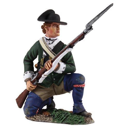 WBritainLoyalist Butler's Ranger Kneeling at Ready, 1780-1784 (16029)