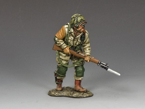 King & Country Toy Soldiers 101st Paratrooper Advancing Fixed Bayonet II DD217