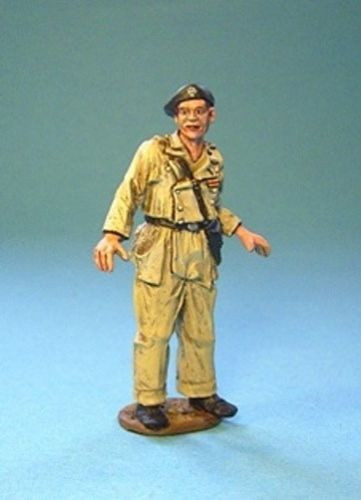 John Jenkins Designs Soldiers COND-01A The Spanish Civil War Tank Commander A