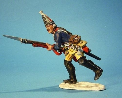 John Jenkins Designs Soldiers LEUT-01 Prussian Grenadier Advancing No 1