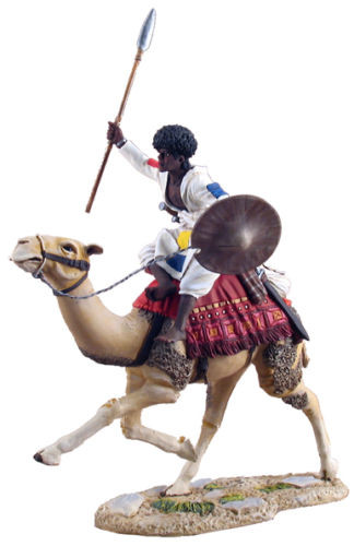 WBritain Soldier 27033 The War Along the Nile Series Mahdist Mounted On Camel Charging No 2