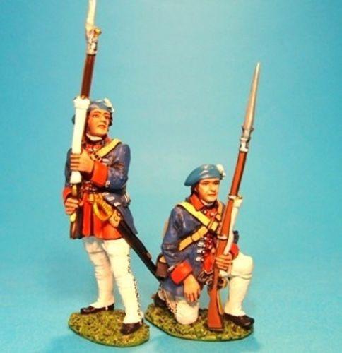 John Jenkins Designs EEC-05 Jacobite Rebellion Line Infantry Firing At The Ready