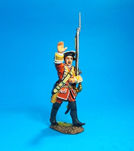 John Jenkins Designs JJCLUB-2013A Battle Of The Plains Of Abraham 1759 British 35th Regiment of Foot Private Jenkins 1/30 Collectible