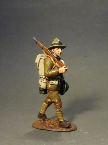 John Jenkins Designs JJCLUB-2015D The Great War, 1914-1918, US Marine Corps 1918, Private Jenkins