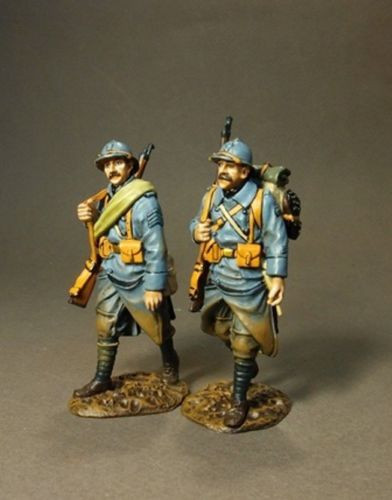 John Jenkins Designs Soldiers GWF-21 The Great War French Infantry PCDF Walking