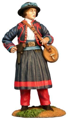 W Britain Union Infantry 114th Pennsylvania Zouaves Vivandiere Mary Teb 31109