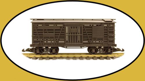 Hartland Locomotive Works 03004 Cattle Car Undecorated G Gauge