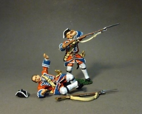 John Jenkins Designs BJ-14 Jacobite Rebellion 2 British Line Infantry Casualties