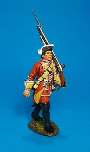 John Jenkins Designs Soldiers QB-35 British 35th Regiment Of Foot Marching 1/30 Scale