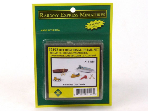 JL Innovative Design 2192 Recreational Detail Set N Scale Model Trains Scenery