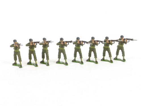 Authenticast Set 309 US Marines Standing Firing World War II 1946
