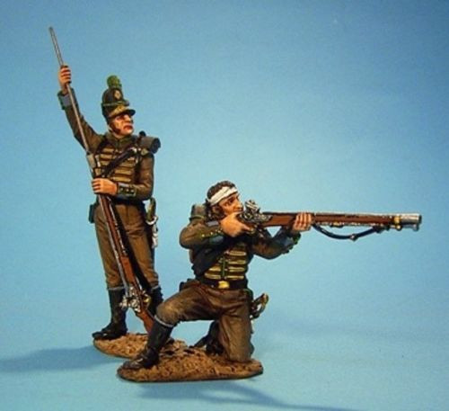John Jenkins Designs Soldiers CAZ-01 Portuguese 1st Cazadores Loading Firing # 1