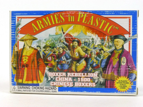 Armies In Plastic Boxer Rebellion Chinese Boxers Collectible Toy Soldiers 5413- Front