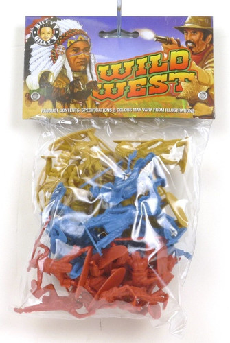 Billy V Toys Wild West Native Americans Collectible Plastic Soldiers 42001