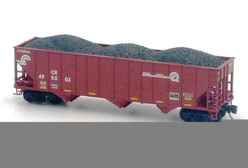 Toys & Hobbies Conrail 100-ton 3-bay Open Hopper #495029 N Micro Trains Line #10800322