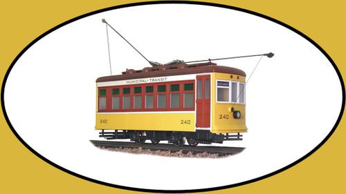 Hartland Locomotive Works Birney East Coast Yellow 9360