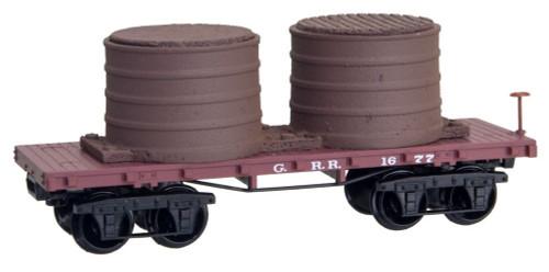 Micro-Trains Line Georgia Railroad 26' Civil War Era Tank Car N Scale 15400060