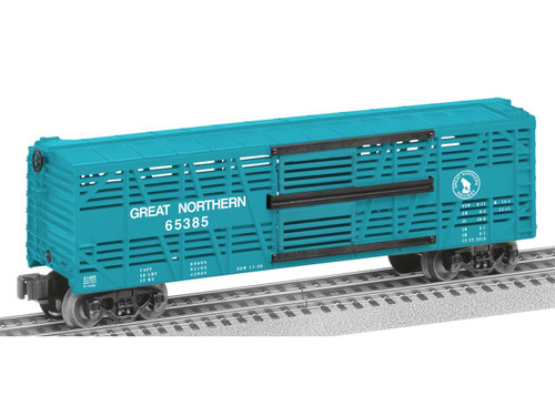 6-81469 Great Northern bi-level stock car O Gauge