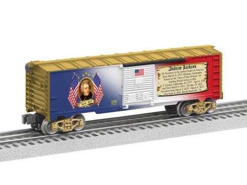 6-81488 Andrew Jackson Boxcar O Gauge