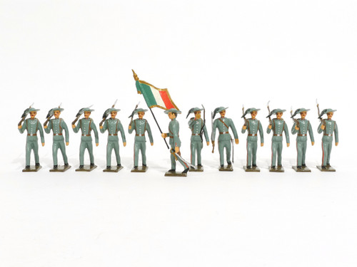 Mignot Toy Set Soldiers Italian Light Infantry