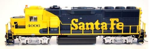 Actual ATSF road number is 4017, photo is a representation