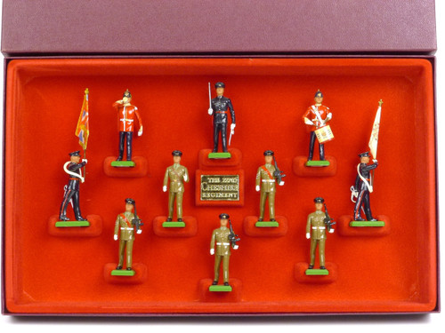 WBritain 5189 The 22nd Cheshire Regiment Set #001585