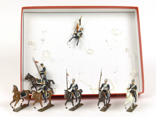 CBG Mignot Toy Soldiers Set 238 Prussian Hussards World War II