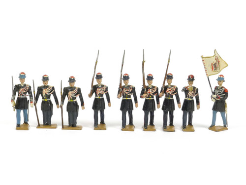 CBG Mignot Toy Soldiers G7A Monaco Guards Winter Dress