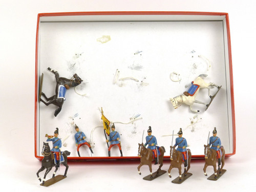 CBG Mignot Toy Soldiers #252 Austrian Dragoons