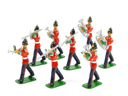 Elfin Models of Wales Toy Soldier Band Horn Musicians Regiment of Wales