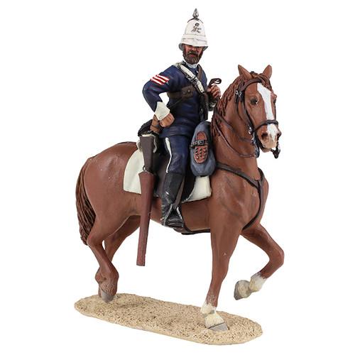 W Britain Anglo-Zulu War 20169 Natal Carbineer Sergeant Mounted No.1