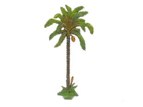Hornung Art Miniatures Date Palm Tree Straight Trunk 1LS Flat Metal Cast Scenery
