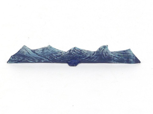 Hornung Art Miniatures Scenery Small Waves 100W Hand Painted Flat Metal Cast