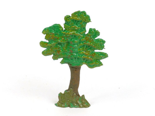 Hornung Art Miniatures Scenery Dioramas Short Oak Tree 100ST Flat Metal Cast