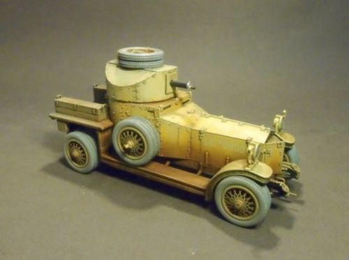 John Jenkins Designs Hedjaz Armoured Car Section Rolls Royce Armoured Car WAD-01